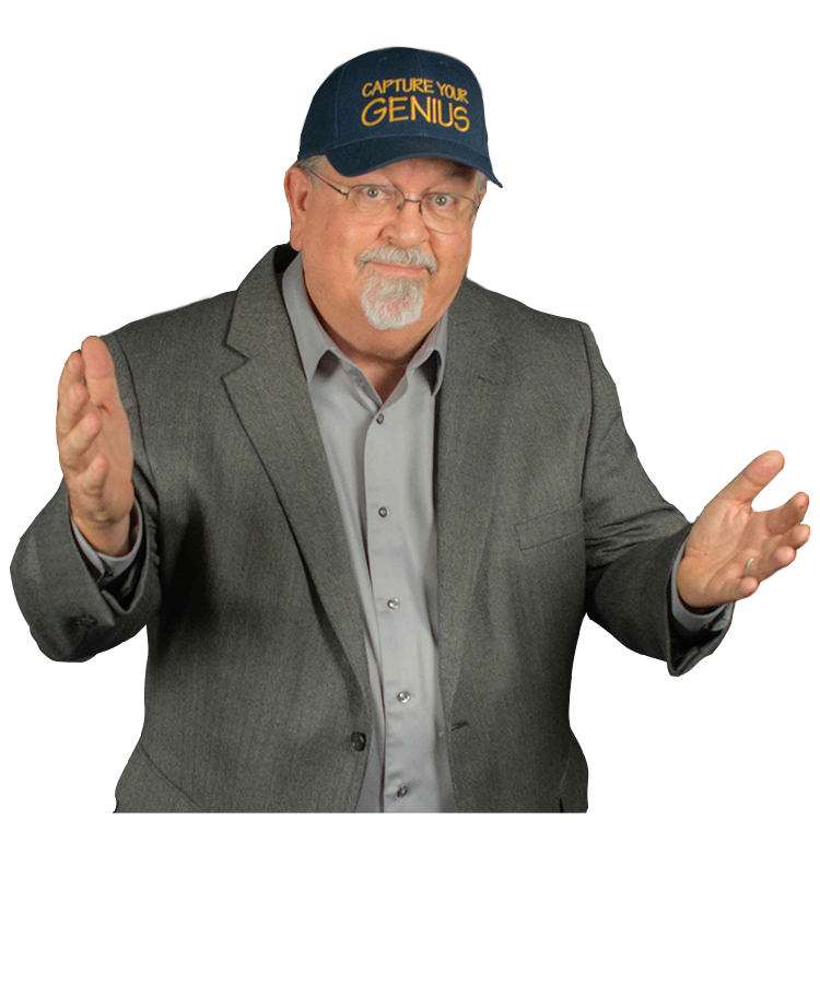 Roy Varner headshot wearing cap capture your Genius